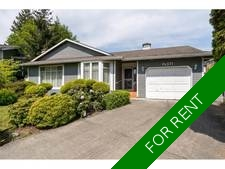 South Surrey White Rock House for rent:  3 bedroom 1,600 sq.ft.
