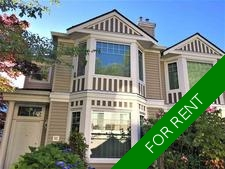 Burnaby Townhouse for rent: Wildflower 4 bedroom 1,768 sq.ft.